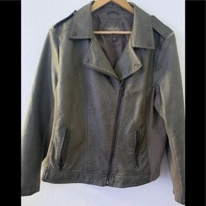 Selby Faux Leather Jacket